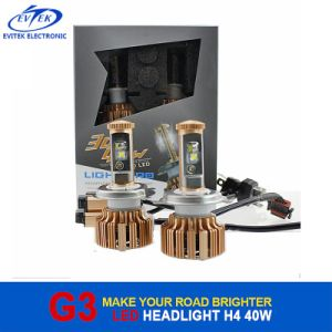 40W Car Headlight USA CREE Chip High Power H4 Car LED Headlight pictures & photos