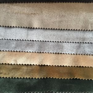 Italian Velvet Sofa Fabric (944) pictures & photos