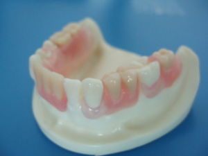 Dental Full Upper and Lower Removable Acrylic Denture pictures & photos