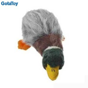 High Quality Plush Pet Toy Duck with Squeakers for Dog pictures & photos