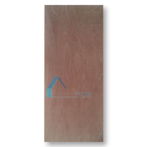 New Design Flat Plywood Door with Horizontal/Vertical Grain pictures & photos
