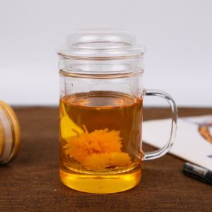450ml Borosilicate Glass Hand Made Glass Tea Cups pictures & photos