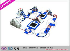 Adult PVC Inflatable Water Park, Water Games, Water Toys, Aqua Park for Lake (J-water park-120)