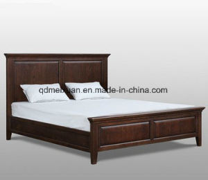 American Country Red Oak Bedroom Double Bed Can Be Customized (M-X3638) pictures & photos