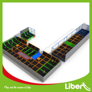 Professional Commercial Indoor Large Trampoline Bed for Park pictures & photos