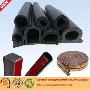 Color Sponge Rubber Door Seal Strip/Silicone Foam Rubber Sealing Strip/EPDM Foam Rubber Seal pictures & photos