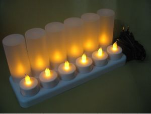 OEM Rechargeable LED Candle Light pictures & photos