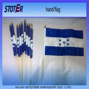 Cheap 100%Polyester 30*45cm Brazil Hand Flags for Cheering pictures & photos