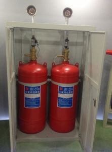 Zmc-100L FM-200 Hfc-227ea (FM200) Clean Gas Fire Suppression System pictures & photos