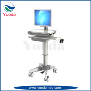 Movable Medical and Hospital Products Laptop Cart pictures & photos