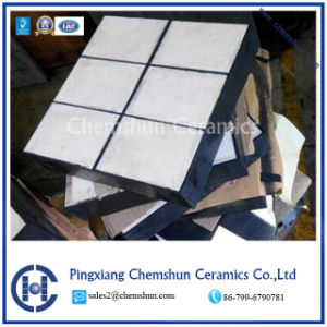 Chemshun Ceramics Rubber Ceramic Liner for Wear Solution Supplier Offer pictures & photos