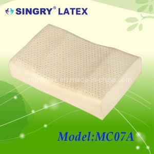 Curve Middle Arc Latex Pillow