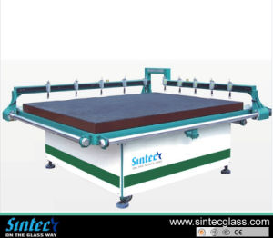 Semi-Automatic Glass Cutting Table/Air Float Glass Cutting Machine pictures & photos