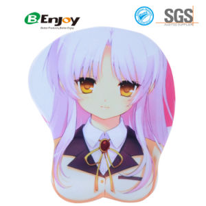 Sexy Soft Gel 3D Anime Mousepad Oppai Mousepad pictures & photos