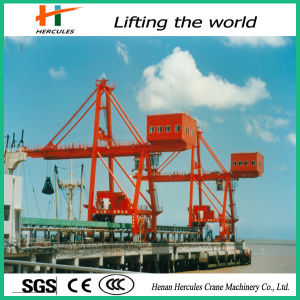 Double Beam Crane with Slewing Container pictures & photos