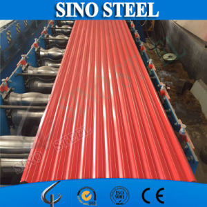 PPGI Color Coated Galvanized Corrugated Steel Roofing Sheet pictures & photos