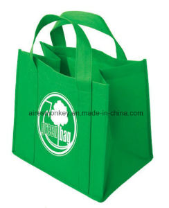Non Woven Shopping Bags with Handles Till Bottom pictures & photos