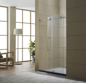 2017 Latest Big Wheels Stainless Steel Sliding Shower Door pictures & photos