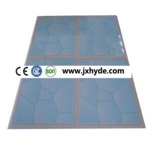 25cm 7/7.5mm 2.5kg Weight Per M2 PVC Ceiling Tiles (RN-173) pictures & photos