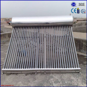 Hot Sale Stainless Steel Vacuum Tube Solar Water Heater pictures & photos