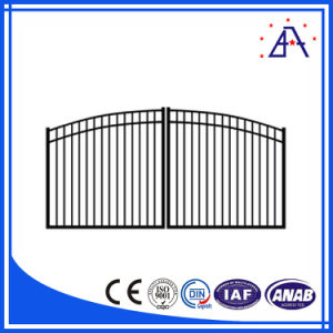 China High Quality 6063-T5 Aluminum Fence/Ornamental Aluminum Garden Fence pictures & photos