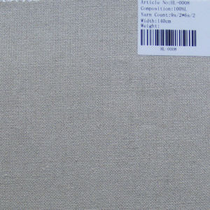 Pure linen sofa fabric HL-0008 pictures & photos
