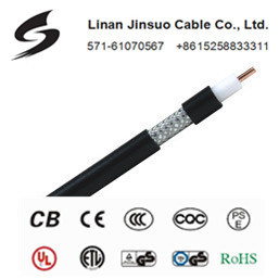 Coaxial Cable RG6 with Without Messager