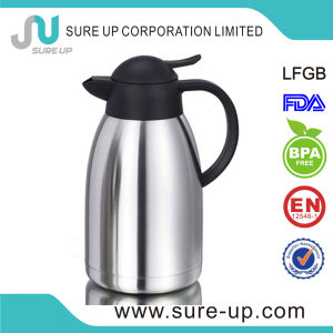 Double Layer Insulated Stainless Steel Body Plastic Handle Water Jug pictures & photos