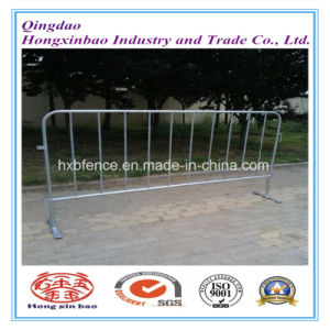 Outdoor Galvanized Barrier/Pedestrian Traffic Barrier/Galvanized Temporary Fence pictures & photos