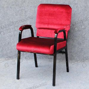 Padded Armrest Stackable Church Chair (YC-G30-01) pictures & photos