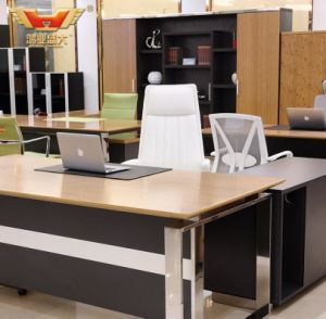Fsc Certified Wholesale Modern Hot Sale Office Executive Manager Fsc Forest Certified Approved by SGS Office Desk for Furniture pictures & photos