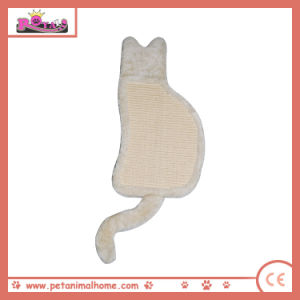 High Quality Cat Shaped Cat Scratching Pad pictures & photos