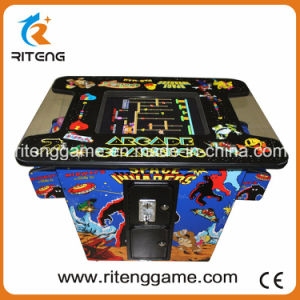Children Indoor Cocktail Arcade Game Machine with Pacman Game pictures & photos