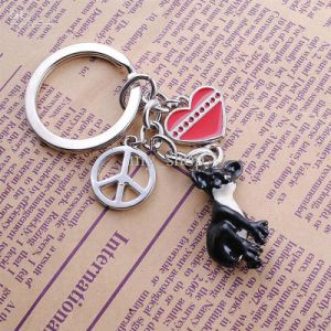 Custom Animal Keychain with Printing Logo (GZHY-KA-831) pictures & photos