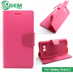 Book Leather Stand Case Card Pouch for Samsung Galaxy Grand 2 G7102
