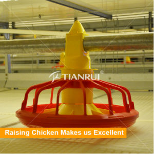 Tianrui Raising Broiler Poultry Automatic Chicken Feeding System pictures & photos