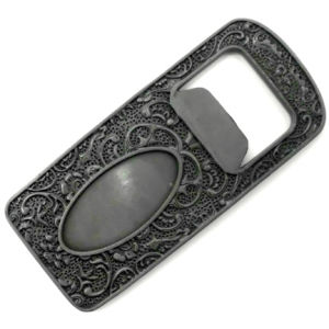 Customized Metal Bottle Opener with 3D Relief, Free Artwork pictures & photos