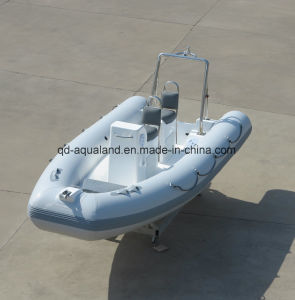 Aqualand 16feet 4.8m Rigid Inflatable Motor Boat/Rib Rescue/Patrol/Diving Boat (RIB480T) pictures & photos