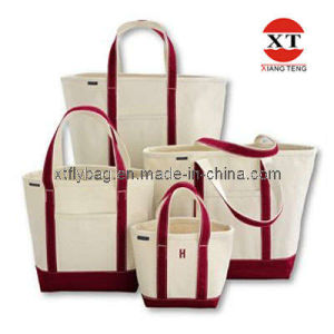 Canvas Leisure Shopping Bag (FLY-FB015) pictures & photos