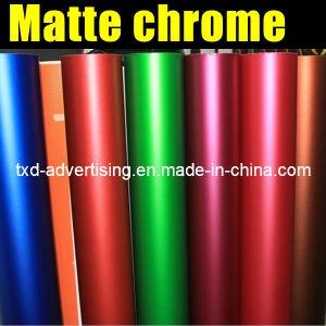 New Arrive Matte Chrome Car Wrap Film