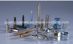 Plated Zinc or Nickle Screw Bolts Shafts Studs Bolts pictures & photos
