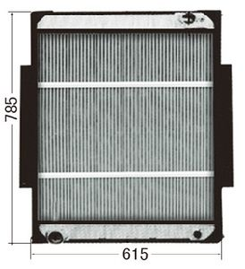 Hot Sale+Original Aluminum Radiators for Benz 9425001203 9425001103 pictures & photos