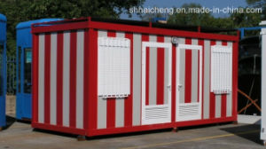 Prefab/Prefabricated /Modular/Movable/Mobile/Container /Steel Structure/Prefabricated Sanitory House (shs-fp-sanitory021) pictures & photos