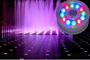 RGB 3W LED Underwater Light DC12V 3000k 6000k RGB Color Changing pictures & photos