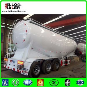 Tri Axle Carbon Steel 33000 Liters Oil Fuel Tank Semi Trailer pictures & photos
