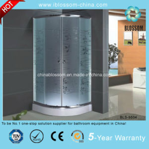 Sliding Acid Glass Enclosed Shower Room Simple Shower Cabin (BLS-9504) pictures & photos
