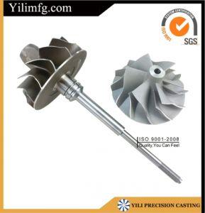 Superalloy Truck Turbocharger Parts Turbine Wheel Casting