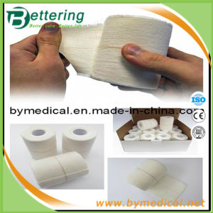 Heavy Eab Cotton Fabric Elastic Adhesive Bandage Wrap pictures & photos