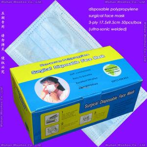 Disposable PP Non-Woven Doctor Face Mask pictures & photos