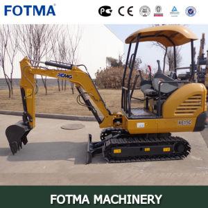 XCMG Xe15 Mini Crawler Excavator pictures & photos